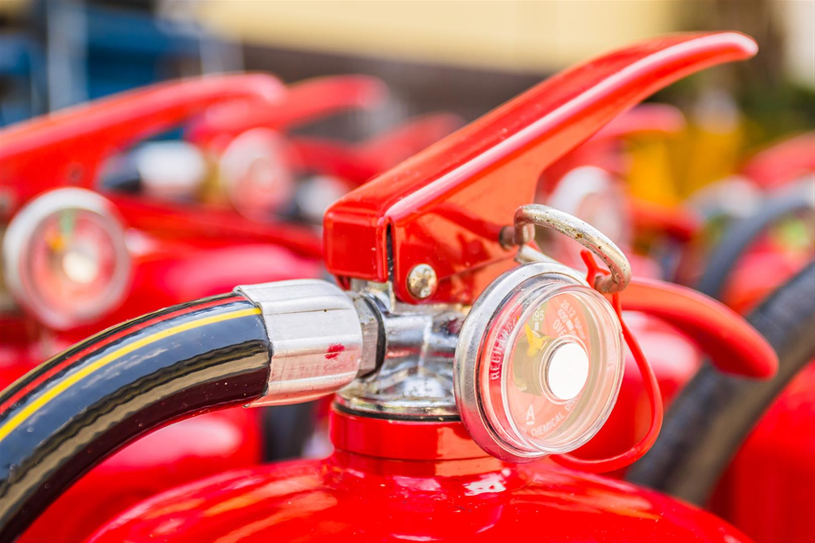 Fire Extinguisher service guage